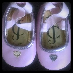Juicy Couture baby ballet flats
